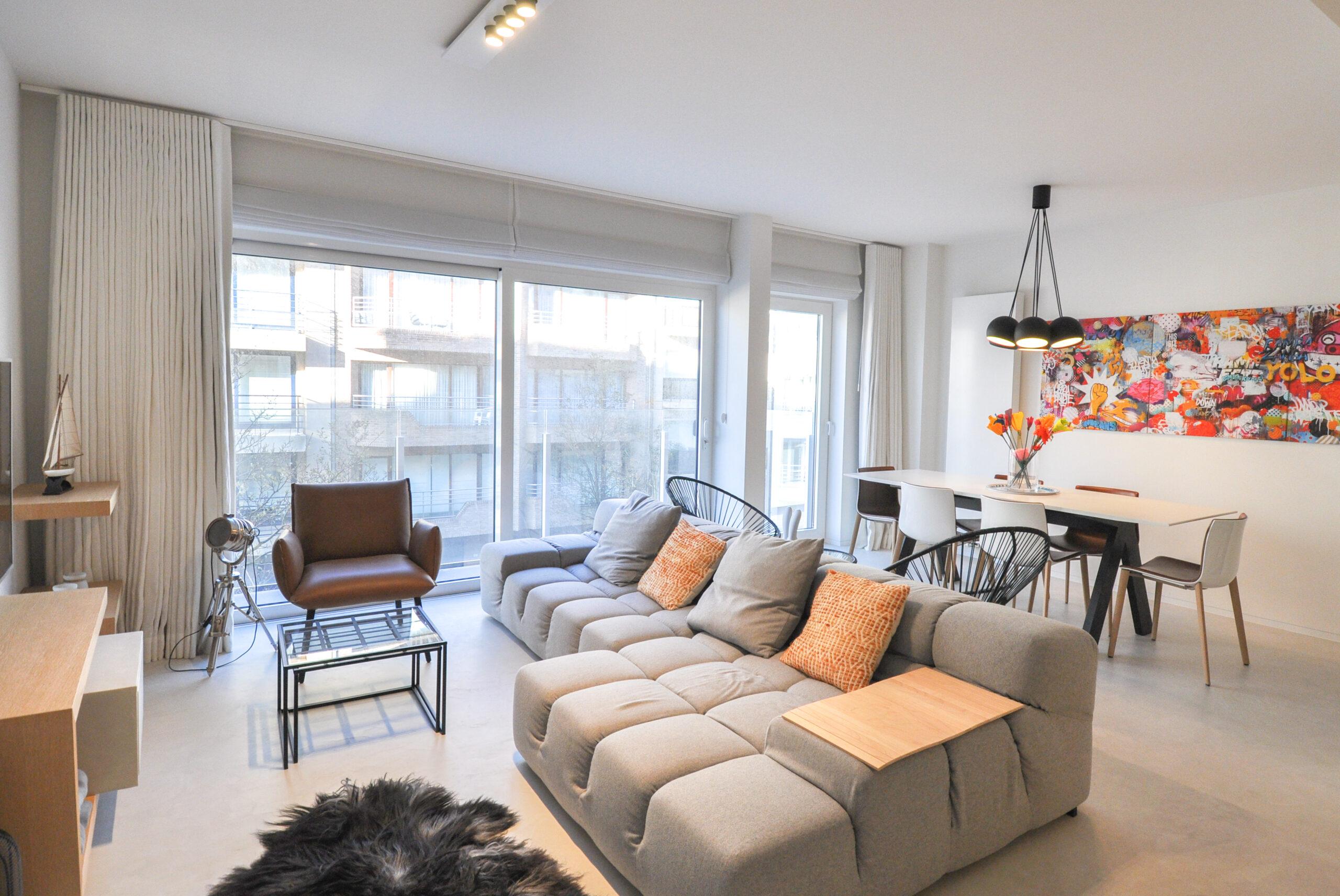 Appartement moderne situé proche de la digue et la place Rubens